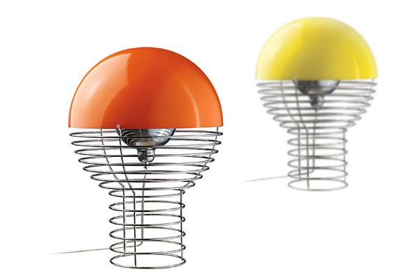 Wire lamp 创意铁丝台灯(三)