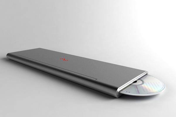 Feno 折叠笔记本电脑插入光盘
