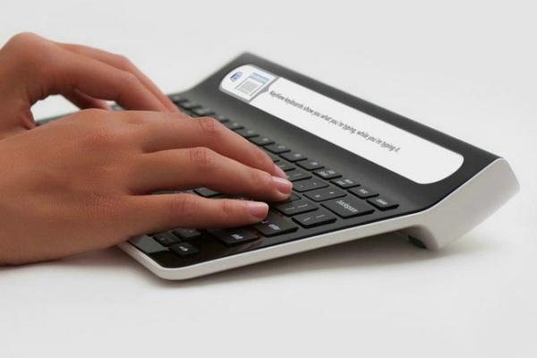Smartype 带显示屏键盘