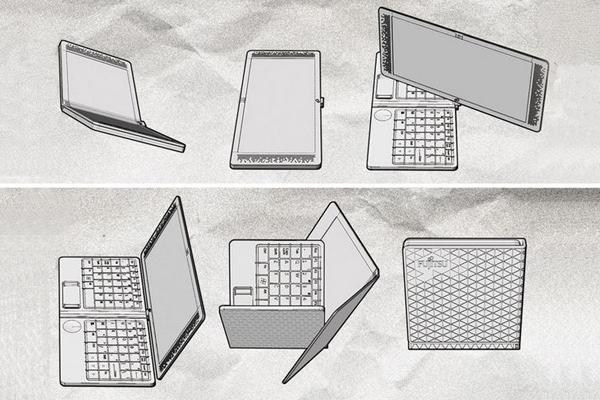 Flexbook 折叠笔记本电脑构造