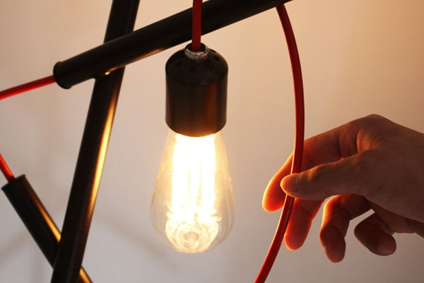 错综复杂的落地灯设计(四)