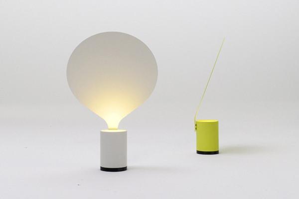 可爱的气球造型台灯
