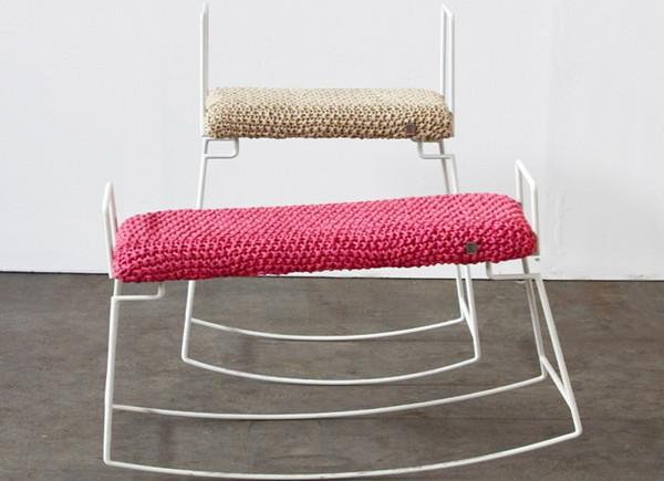 优雅简约的创意摇凳