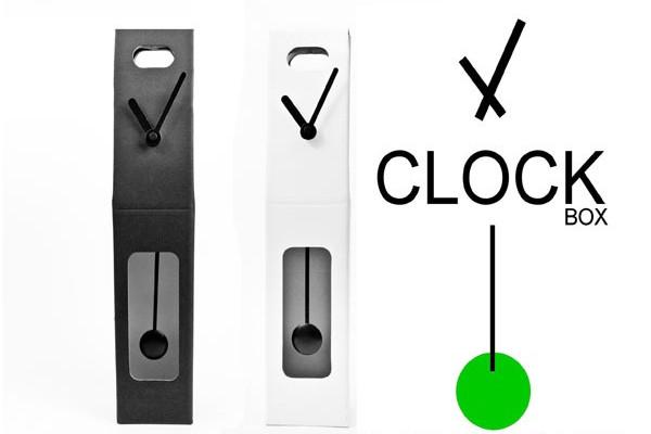 纸质环保创意时钟