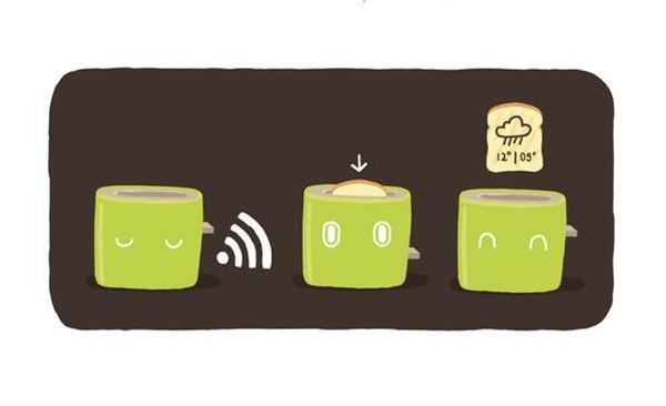提供信息的智能烤面包机(二)