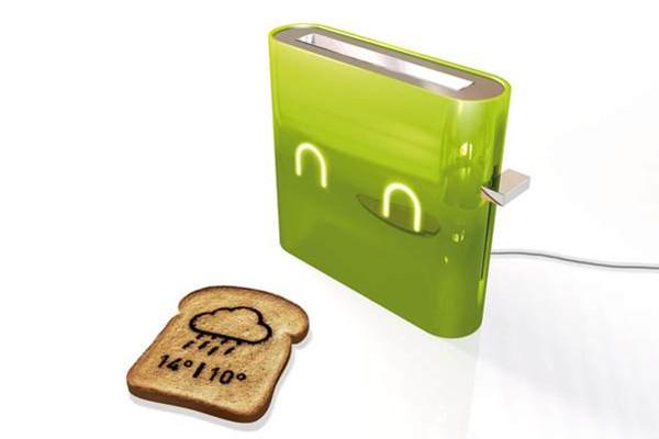 提供信息的智能烤面包机(三)