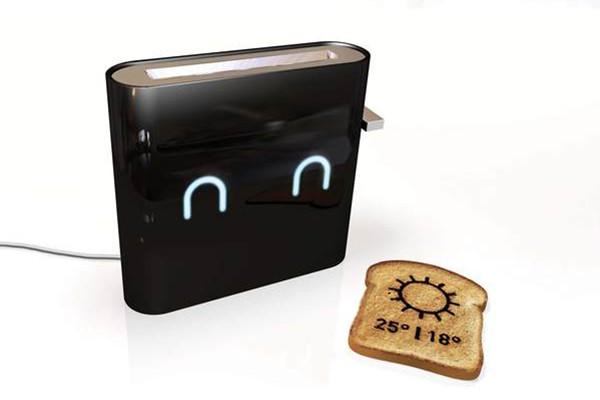 提供信息的智能烤面包机(四)
