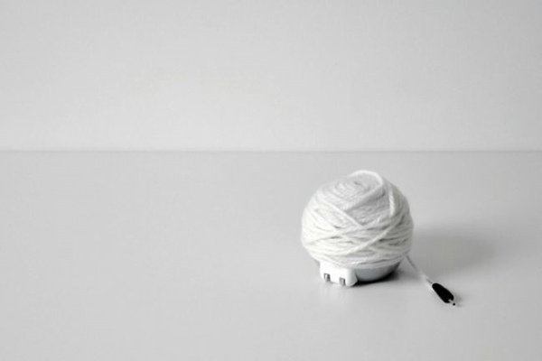 毛线球移动电源(三)