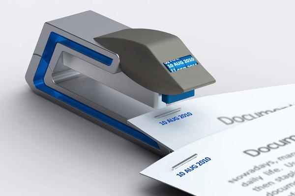 可以打印日的期订书机