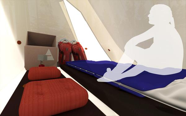 超级轻便且实用的帐篷