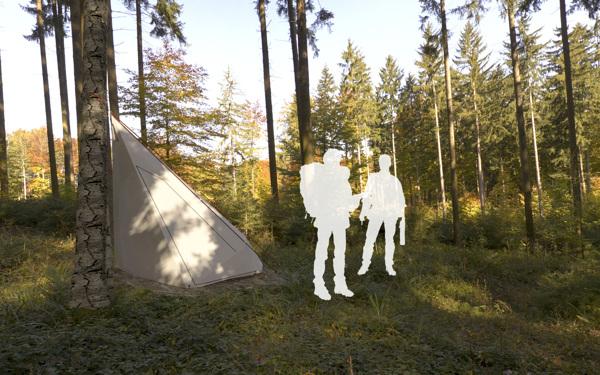 超级轻便且实用的帐篷(三)