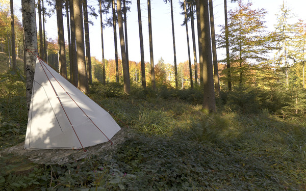 超级轻便且实用的帐篷(四)