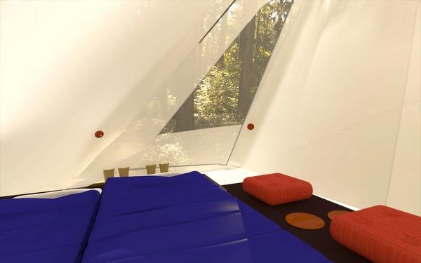 超级轻便且实用的帐篷(六)