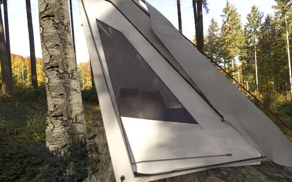 超级轻便且实用的帐篷(七)