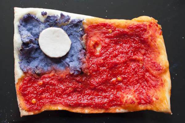 国旗披萨-缅甸