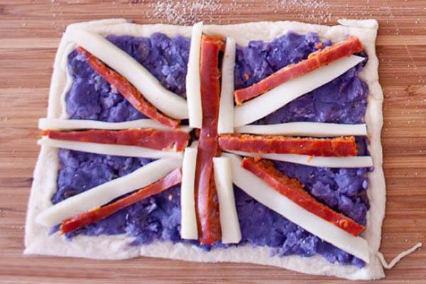 国旗披萨-英国