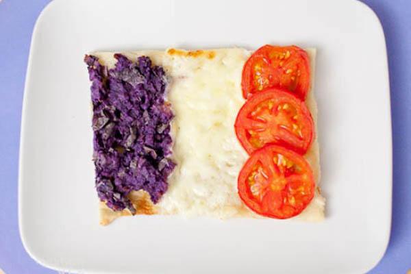 国旗披萨-法国