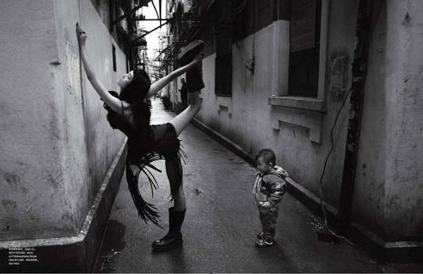 时尚黑白摄影欣赏(五)
