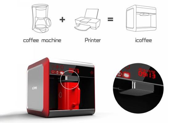 iCoffee 咖啡奶泡打印机(二)