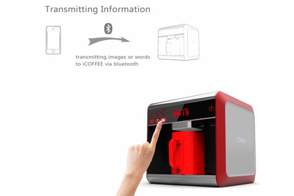iCoffee 咖啡奶泡打印机(三)