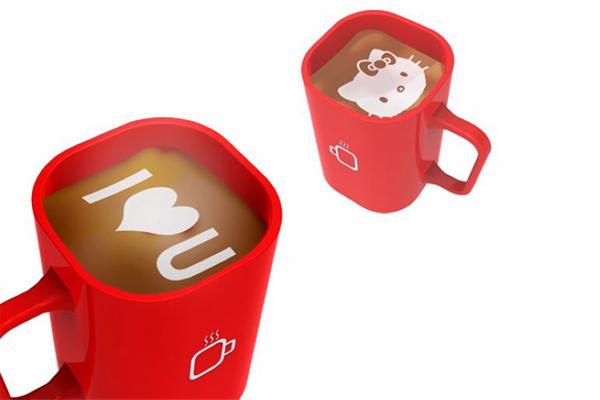 iCoffee 咖啡奶泡打印机(四)