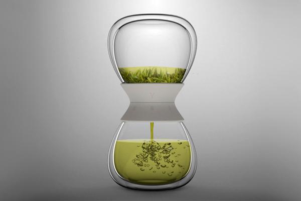 计时沙漏茶壶