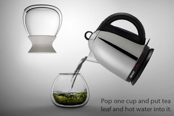 计时沙漏茶壶(二)