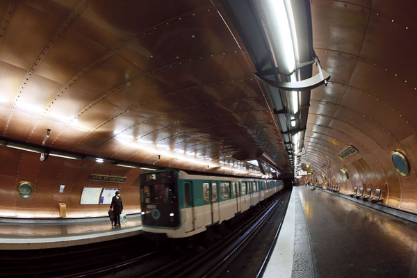 Arts et Métiers地铁站,巴黎