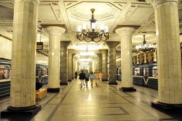Avtovo地铁站,圣彼得堡