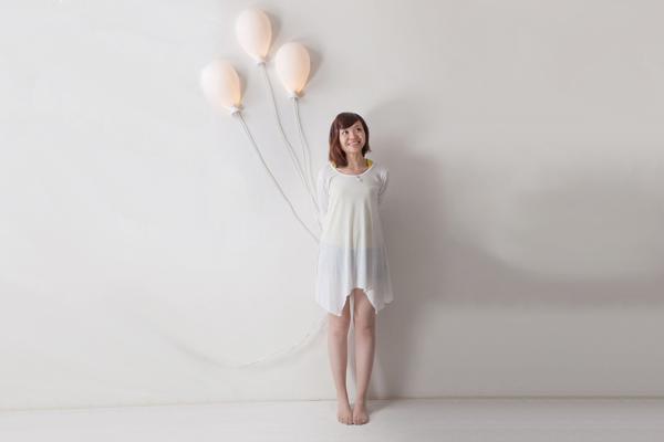 墙壁上的气球灯(三)