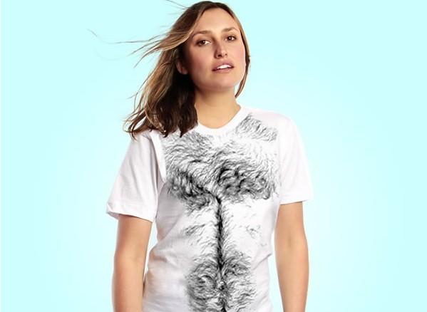 长了胸毛的t恤(二)