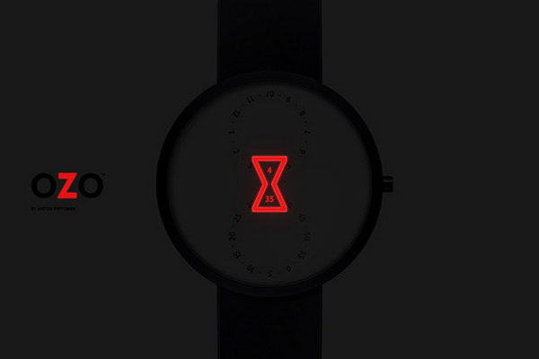 OZO 沙漏样式手表(二)