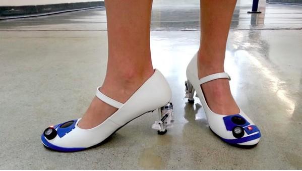 星球大战风格的高根鞋