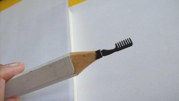 值得收藏的铅笔雕塑(七)
