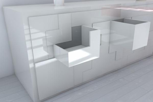 俄罗斯方块组合家具(三)