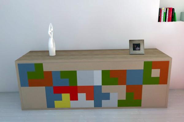 俄罗斯方块组合家具(四)