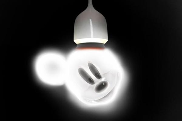 米奇样式的灯泡(三)