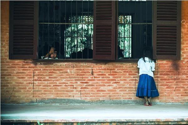 贫困山区孩子学校的一天(四)
