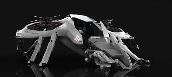 超逼真的概念机器人(四)