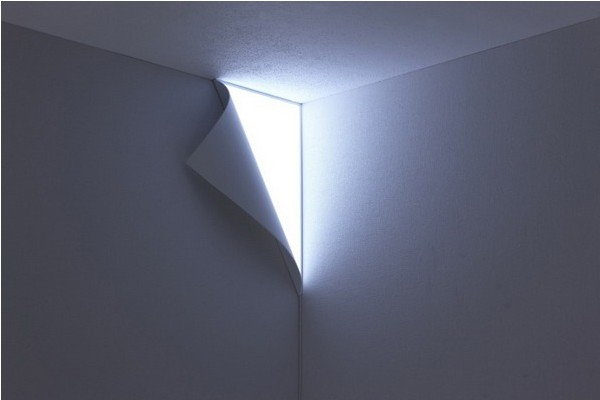 调皮的翻边壁灯(四)