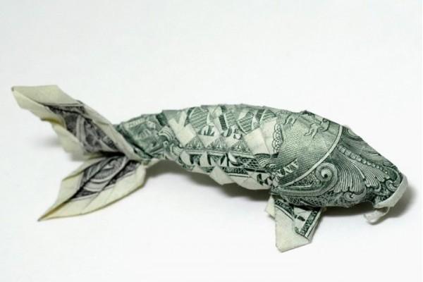 折纸币的艺术
