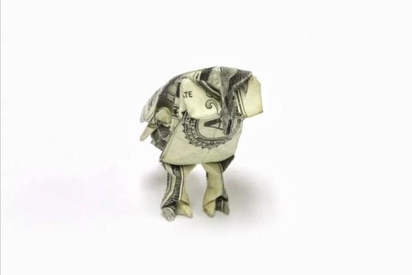 折纸币的艺术(五)