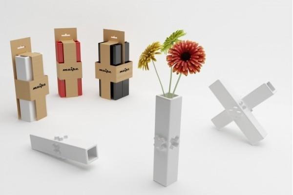 自由拼接模块化花瓶