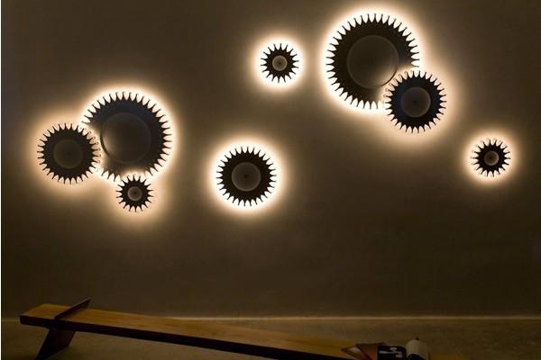 Schproket齿轮式创意灯具-玩意儿