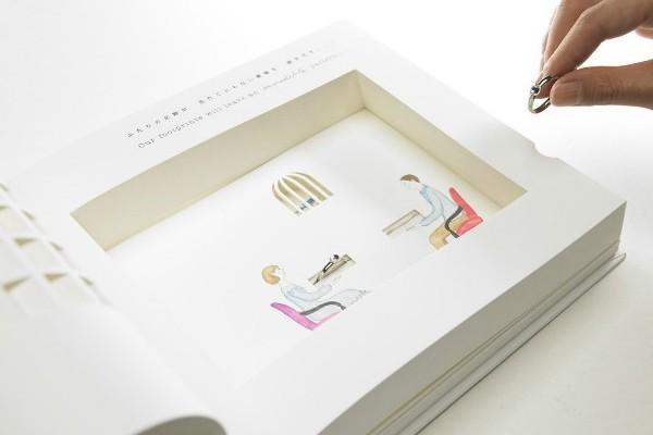 有创意的立体绘本求婚书(三)