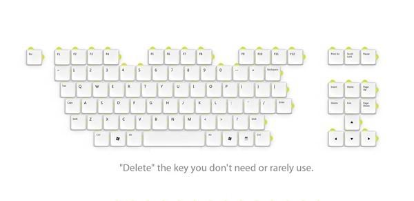可以自由组合的键盘(二)