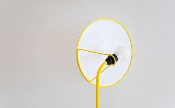摄影棚式样的柔光台灯(三)
