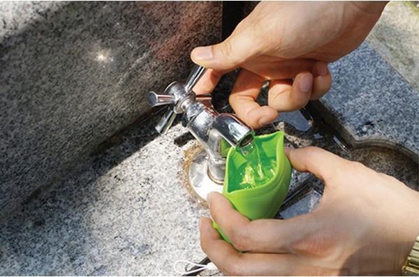 可携带的绿叶水杯(二)