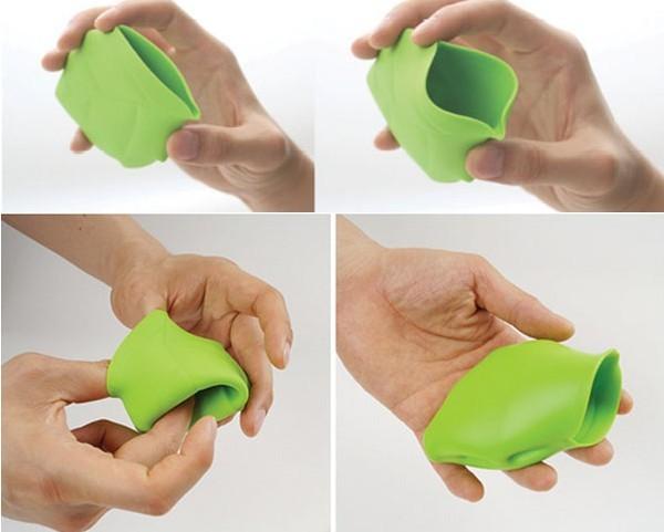 可携带的绿叶水杯(四)