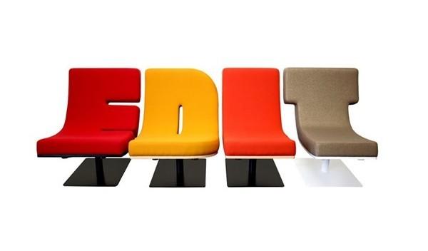 有趣的字母沙发设计(二)